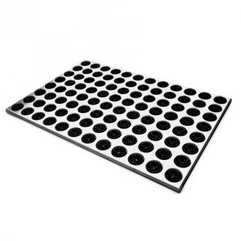 Radius - Feet Back Fußmatte - schwarz/LxBxH 58.5x39x1.9cm