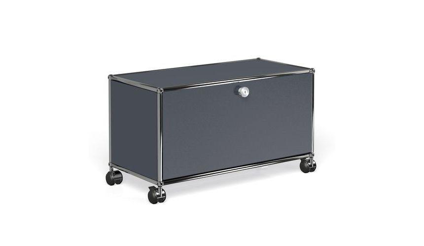 usm hi fi tv board with folding board usm haller. Black Bedroom Furniture Sets. Home Design Ideas