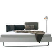 More - Nova Skid Frame Double Bed 160cm