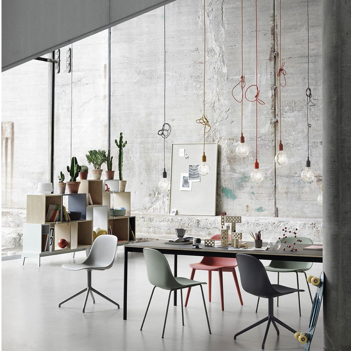 e27 pendelleuchte muuto leuchten. Black Bedroom Furniture Sets. Home Design Ideas
