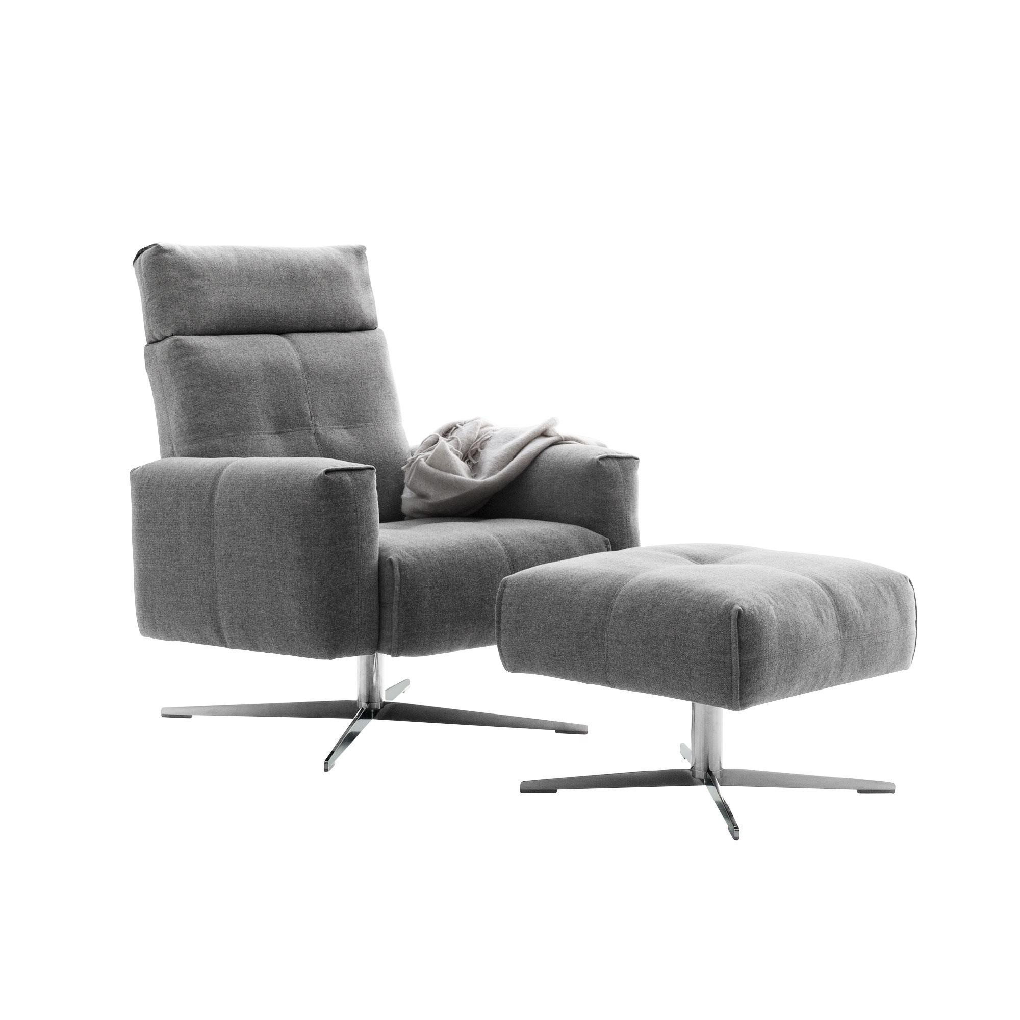 Rolf Benz 50 Sessel Mit Hocker Ambientedirect