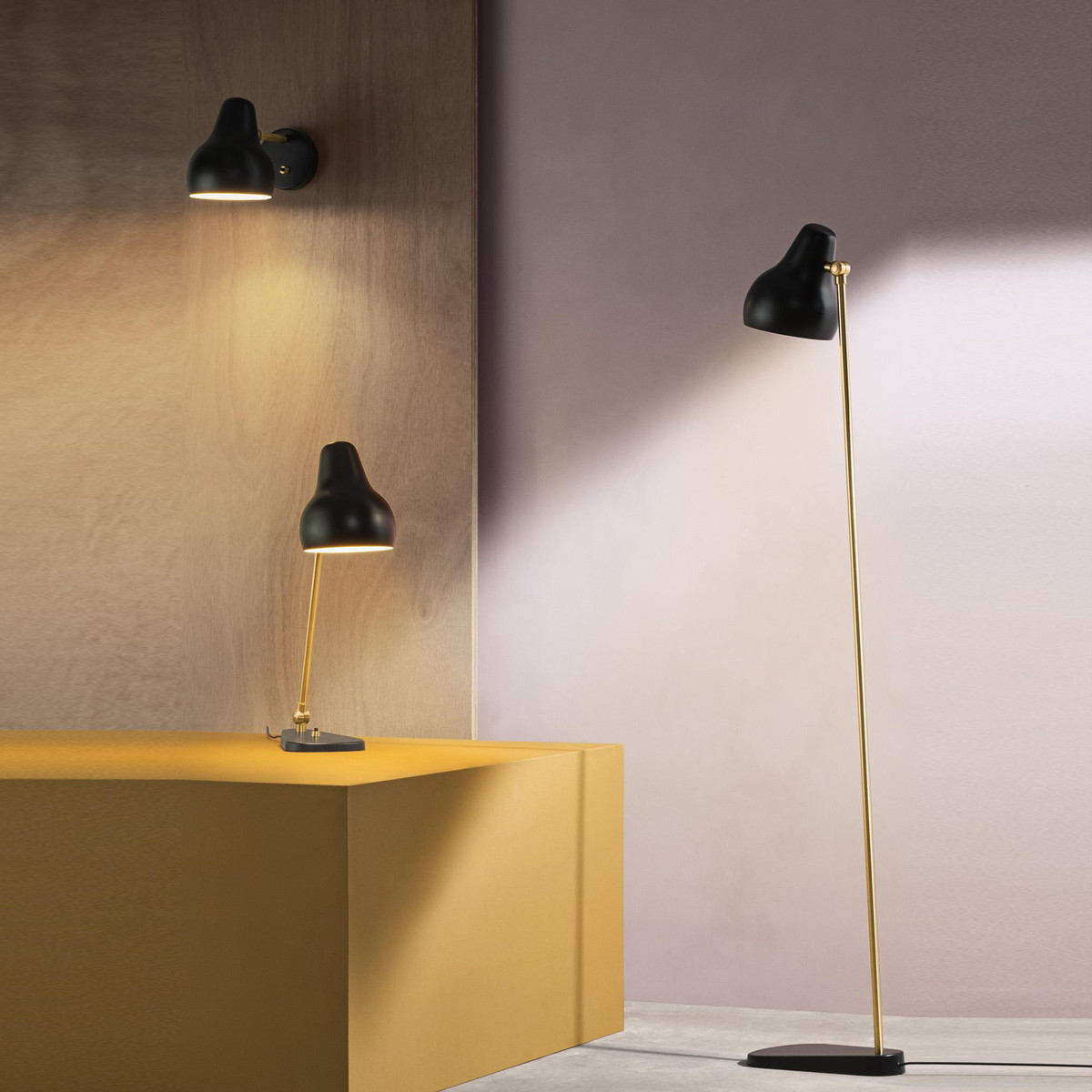 vl38 led table lamp louis poulsen. Black Bedroom Furniture Sets. Home Design Ideas