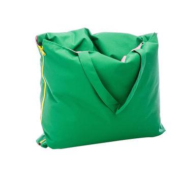 Jan Kurtz - Hhooboz Tragetasche/Kissentasche 150x62cm - grün/pink/gefaltet 50x62cm