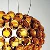 Foscarini - Caboche Media Pendelleuchte - goldgelb/Methacrylat/H 20cm/ Ø50cm