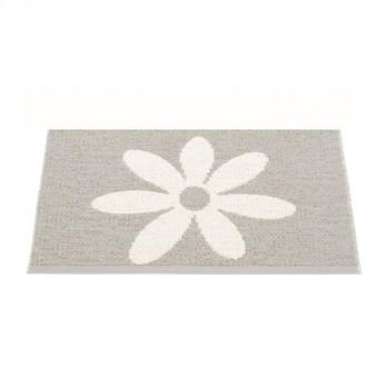 pappelina - Lilo Teppich 70x50cm - warmes grau/vanille