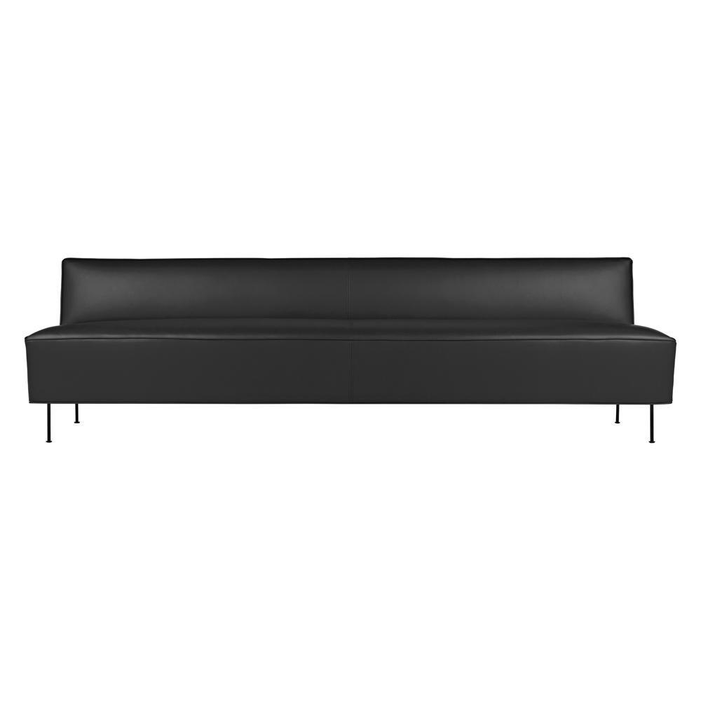 Sofa modern braun  Modern Line Sofa | Gubi | AmbienteDirect.com