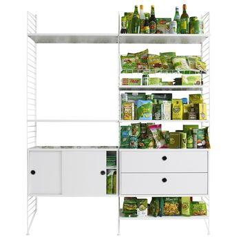 String   String Storage Combo Kitchen 157x200x30cm ...