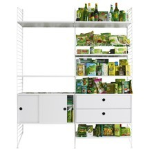 String - String Storage Combo Kitchen 157x200x30cm