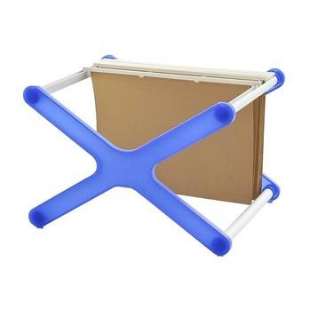 Magis - XX Aktenhalter - blau/transparent