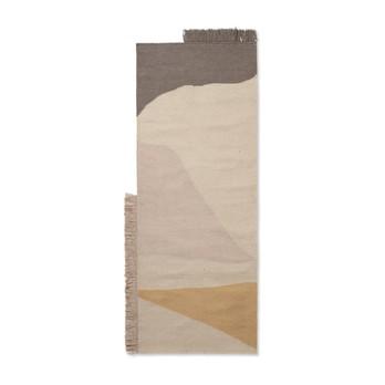 ferm LIVING - Kelim Earth Teppichläufer 180x70cm