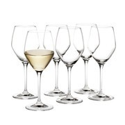 Holmegaard - Set de 6 copas de vino blanco Perfection