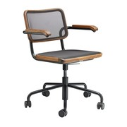 Thonet - S 64 NDR Pure Materials Swivel Chair