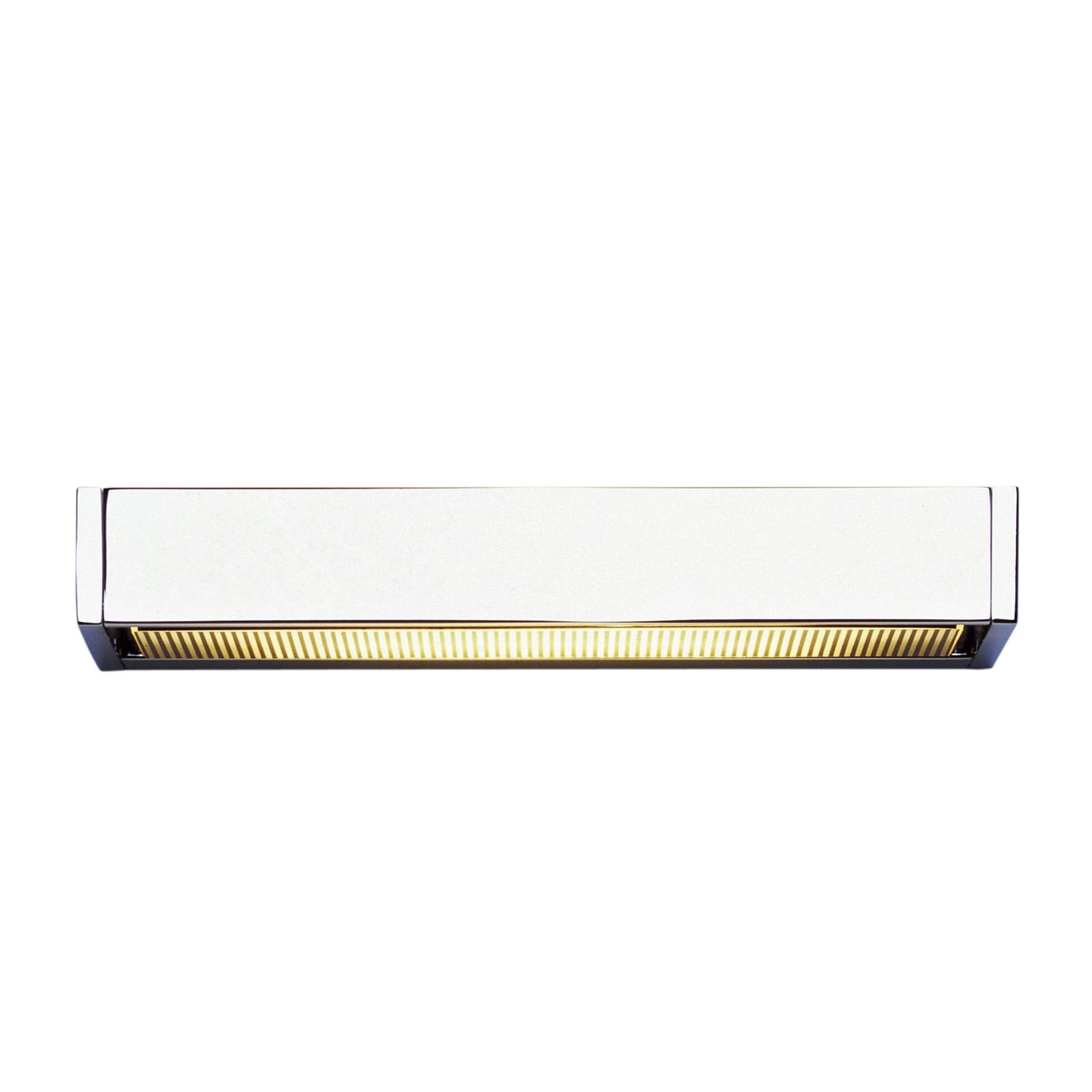 serien sml led - applique murale aluminium poli | ambientedirect