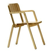Richard Lampert - Chaise avec accoudoirs Prater Chair