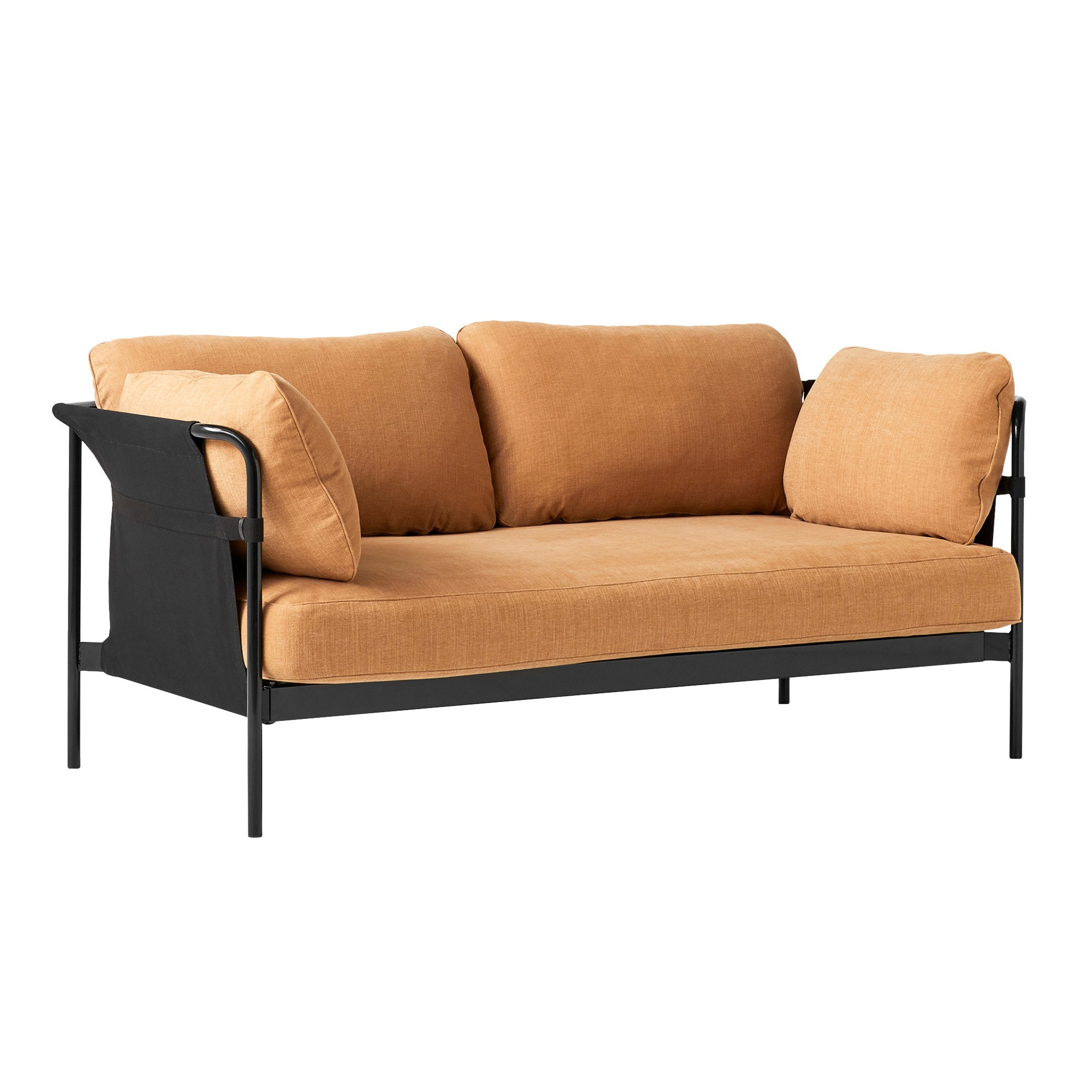 Swell Can 2 0 2 Seater Sofa Frame Steel Black Machost Co Dining Chair Design Ideas Machostcouk
