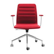Cappellini - Lotus Low Office Chair With Wheels