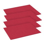Hey-Sign - Place mat Set of 4 Rectangular 45x35cm