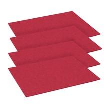 Hey-Sign - Set de 4 sets de table rectangulaire 45x35cm