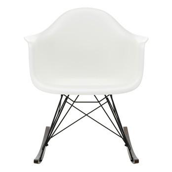 Vitra - Eames Plastic Armchair RAR Schaukelstuhl schwarz