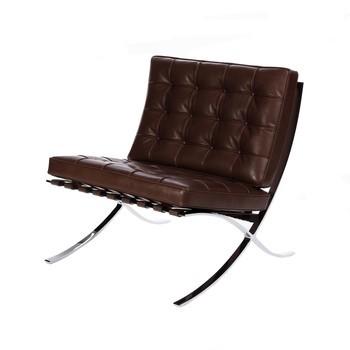 Knoll International   Barcelona Relax Chair   Dark ...