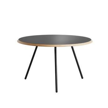 Woud - Soround Beistelltisch Ø60cm - schwarz/Ø 60cm /H 44cm