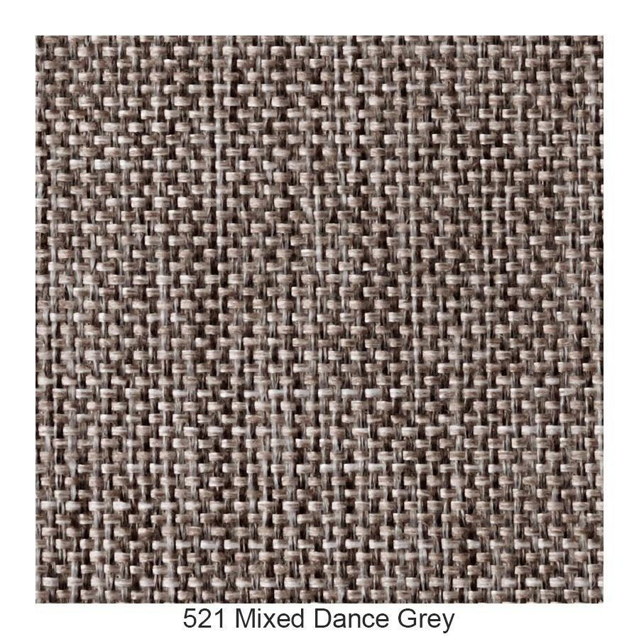... Innovation   Napper Sofa Bed   Grey / Frame Oak/fabric 521 Mixed Dance  Grey ...