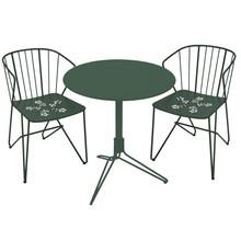 Fermob - 2 Flower Garden Chairs +1 Flower Garden Table
