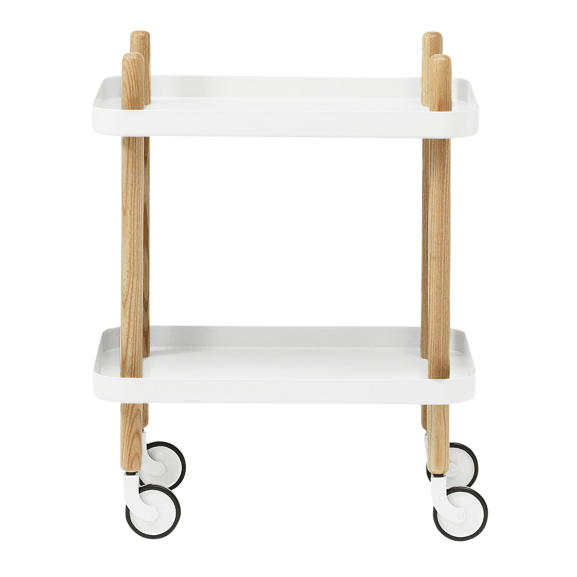 Normann Copenhagen   Block Side Table/Trolley ...