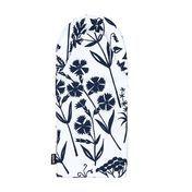 Artek - Niittykukka-flor prado - Guant para barbacoa - blanco/azul/35x16 cm