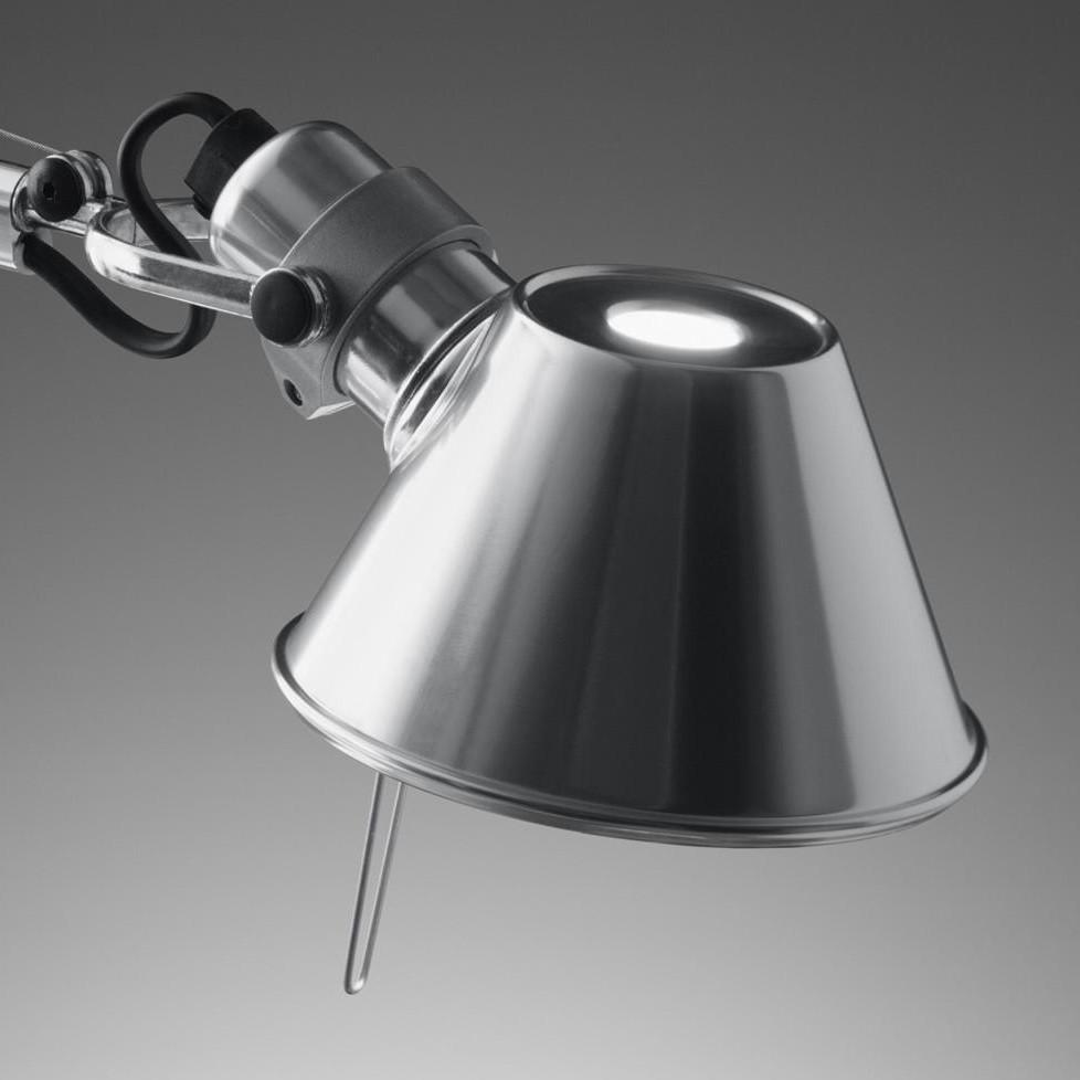tolomeo micro chrom lampe de bureau artemide. Black Bedroom Furniture Sets. Home Design Ideas