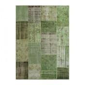 G.T.DESIGN - MeatPacking Teppich  - grün/200x300cm