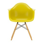 Vitra - Eames Plastic Armchair DAW Golden Maple Base