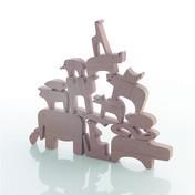 Danese - Sedici Animali Puzzle - eiche