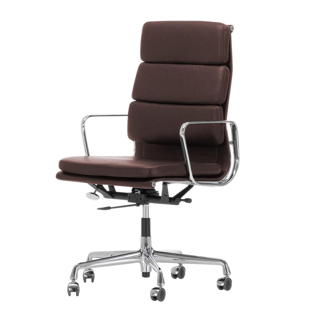 vitra ea 219 soft pad eames alu chair office chair ambientedirect. Black Bedroom Furniture Sets. Home Design Ideas