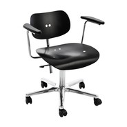 Wilde + Spieth - S 197 R Swivel Chair With Armrest