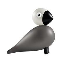 Kay Bojesen Denmark - Holzfigur Singvogel lackiert