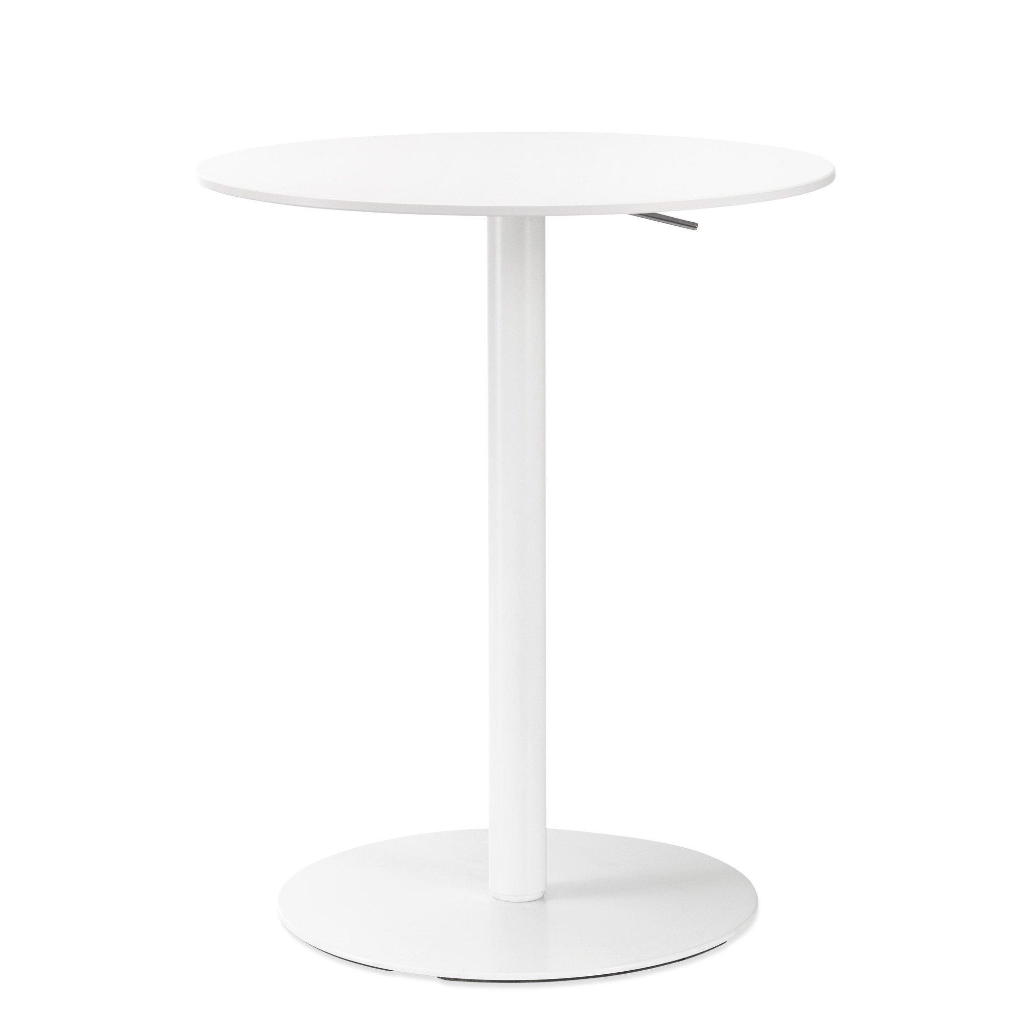 La Palma   Brio Mobile 52 70 Bistro Table Ø60cm   White ...