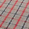 GAN - Garden Layers Tartan Teppich 180x240cm - blau/Handwebstuhl
