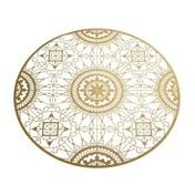 Driade - Italic Lace Round Placemat Untersetzer - gold/Ø 34cm