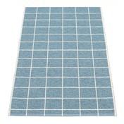 pappelina - Joel Teppich 70x150cm - tauben-blau/vanille