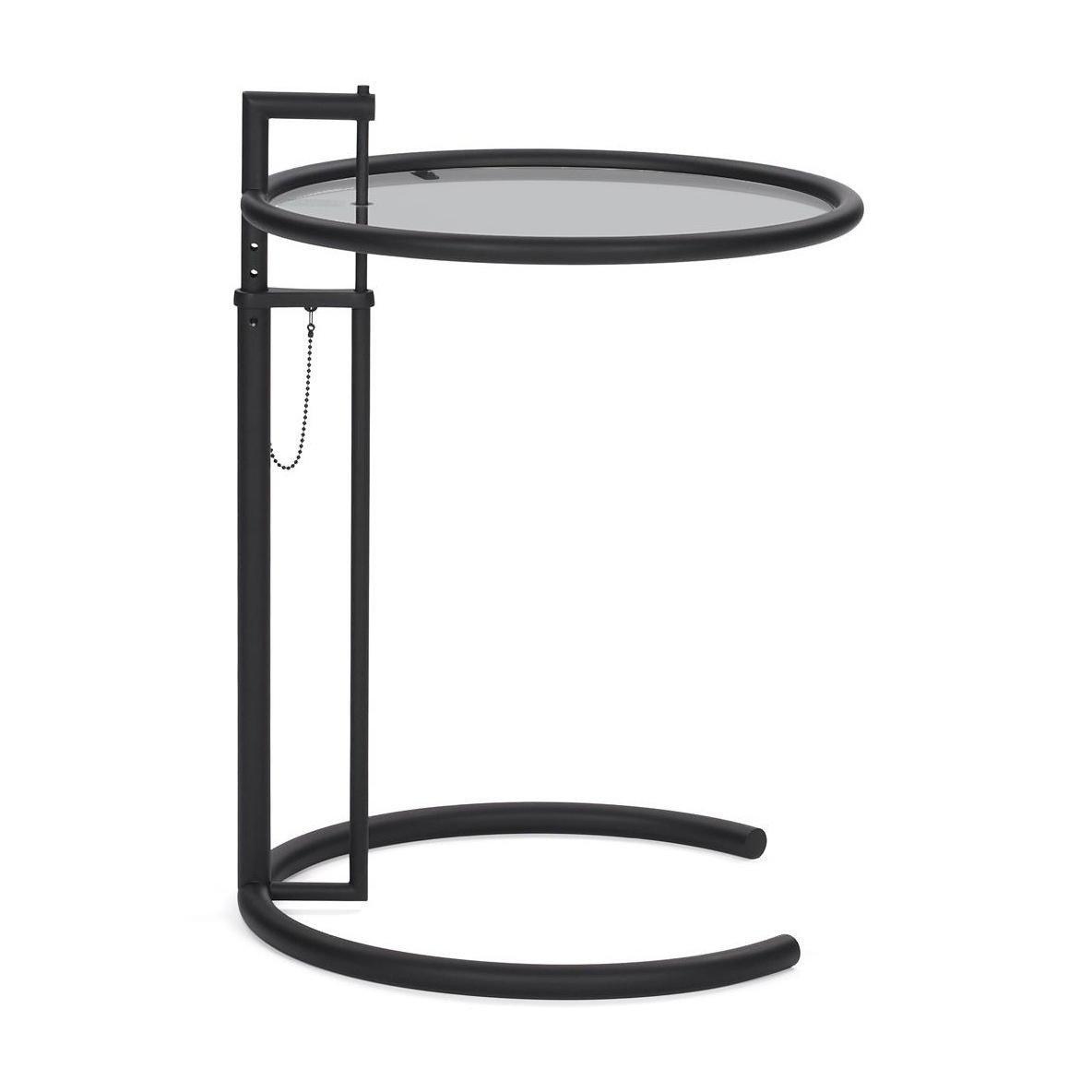 ClassiCon Adjustable Table E 1027 Beistelltisch schwarz | AmbienteDirect
