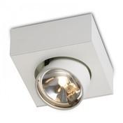Mawa Design - Wittenberg wi-ab-125-1e Einzelstrahler - weiß/matt/inkl. Leuchtmittel (Osram Halostar ECO)