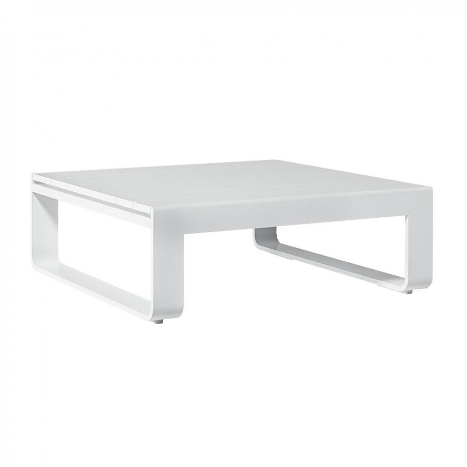 Flat Low Garden Table