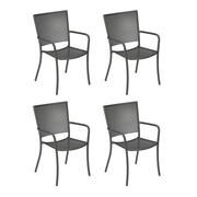 emu - Set de 4 fauteuils de jardin Athena