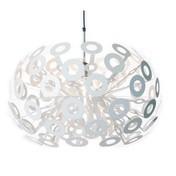 Moooi - Dandelion S Pendelleuchte - weiß/Stahl