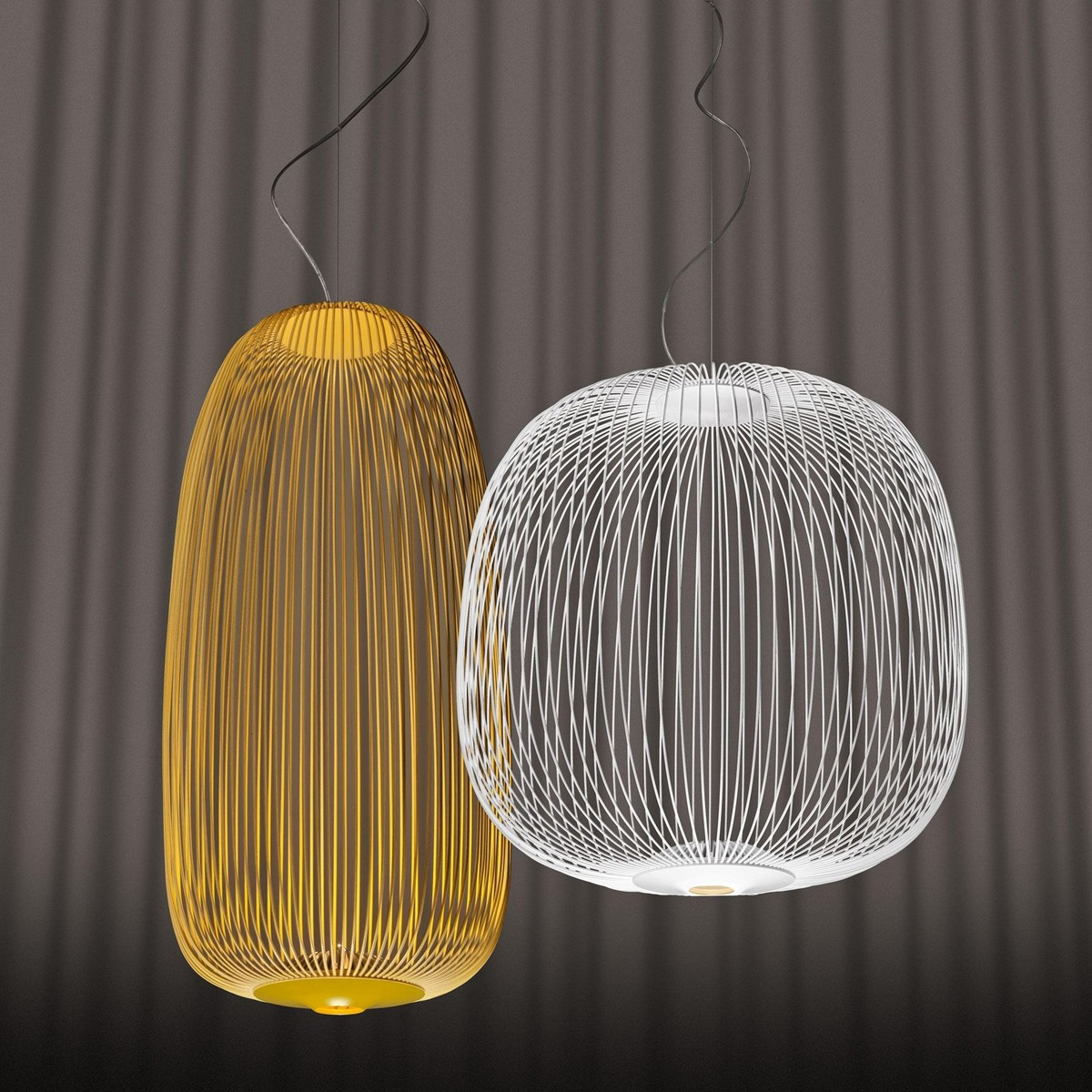 Spokes 2 led suspension lamp foscarini for Suspension design