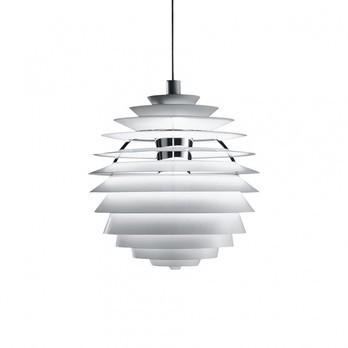 Louis Poulsen - PH Louvre Suspension Lamp - white/lacquered