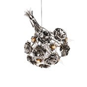 Brand van Egmond - La Vie En Rose Pendelleuchte - nickel/glänzend/Größe 2/60cm