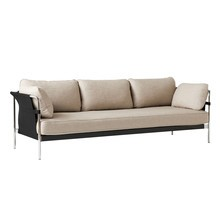 HAY - Can 2.0 3-Seater Sofa Frame Steel Chromed