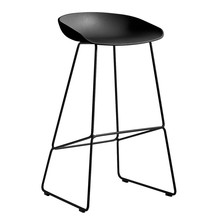 HAY - About a Stool AAS 38 Bar Stool High Black Base